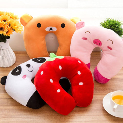 Cute Cartoon Neck Pillow