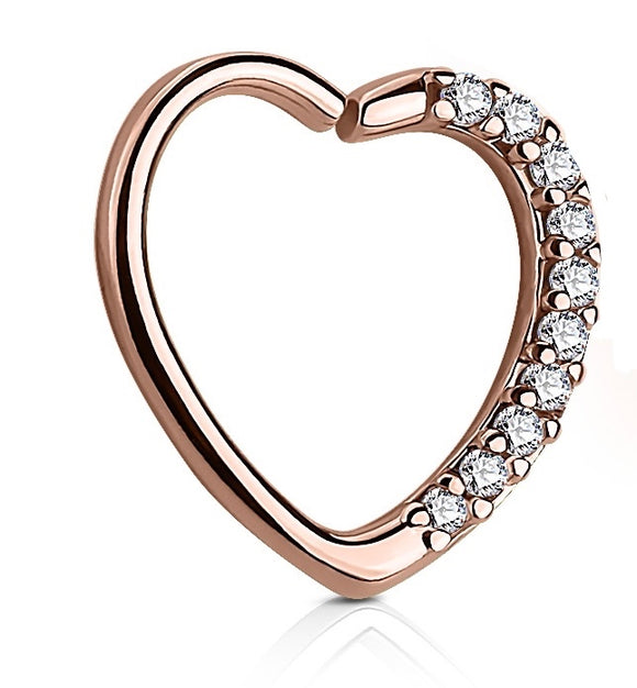 Paved Heart Hoop