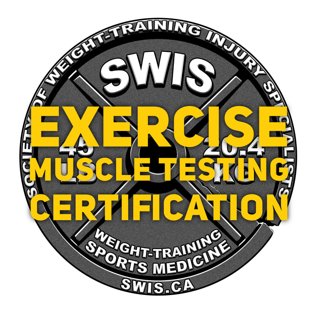 Vol.208 - Exercise Muscle Testing Seminar - Upper and Lower Body Certification - Nov. 11-12, 2017