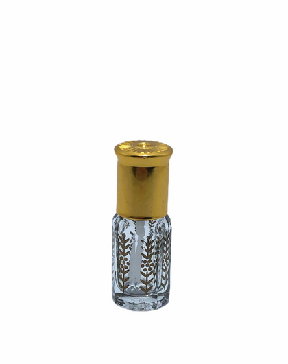 3ML Perfume Oil Bottle (1/4 Tola)