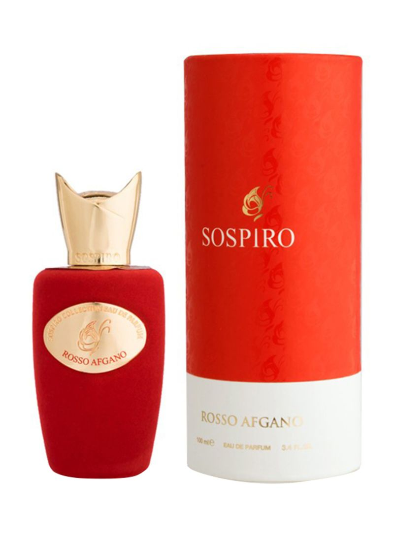 Perfume oil inspired by Rosso Afgano