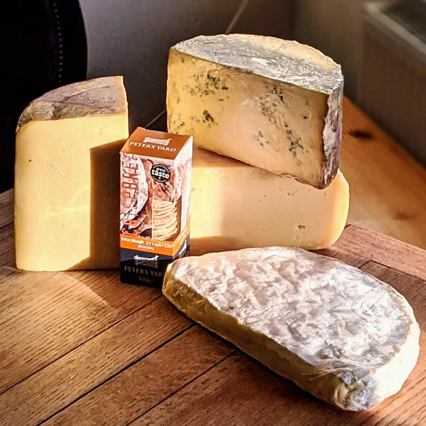 Fathers Day Pre Order - Gourmet Courtyard Dairy Cheese Feast