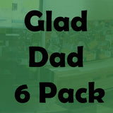 Glad Dad Beer Selection (6 Pack of all round great beer)