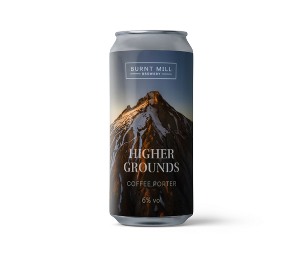 Burnt Mill - Higher Grounds - 6% Coffee Porter - 440ml Can