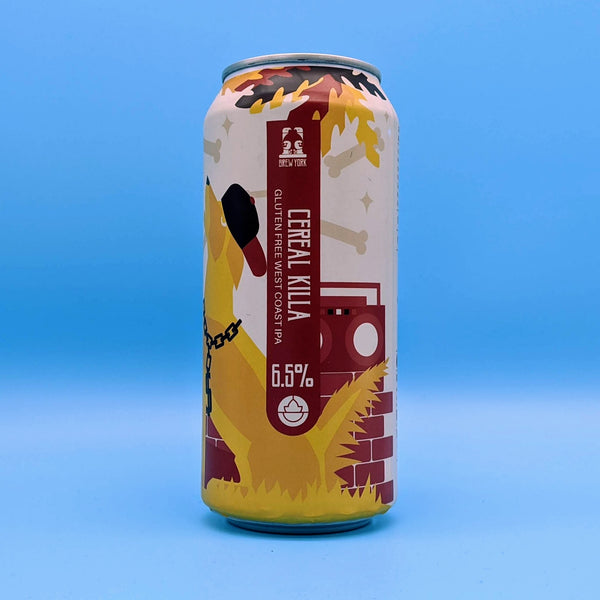 Brew York - Cereal Killer - 6.5% ABV - 440ml Can