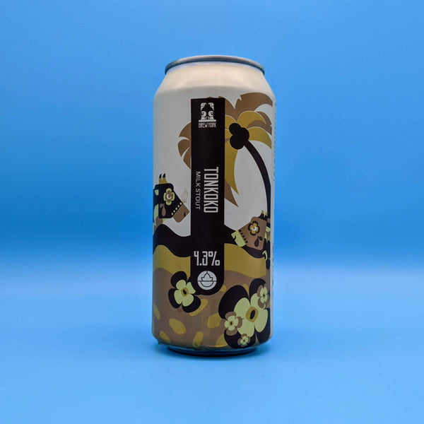 Brew York - Tonkoko - 5% ABV - 440ml Can