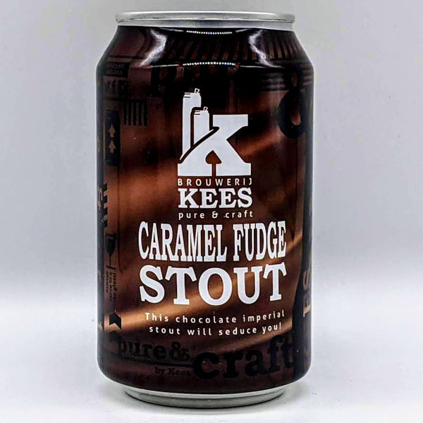 Kees - Caramel Fudge Stout - 11.5% ABV - 330ml Can