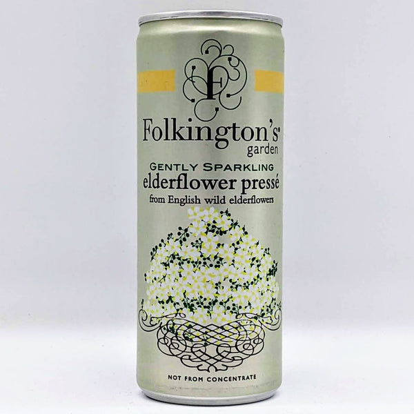 Folkingtons - Elderflower Pressé - 250ml Can