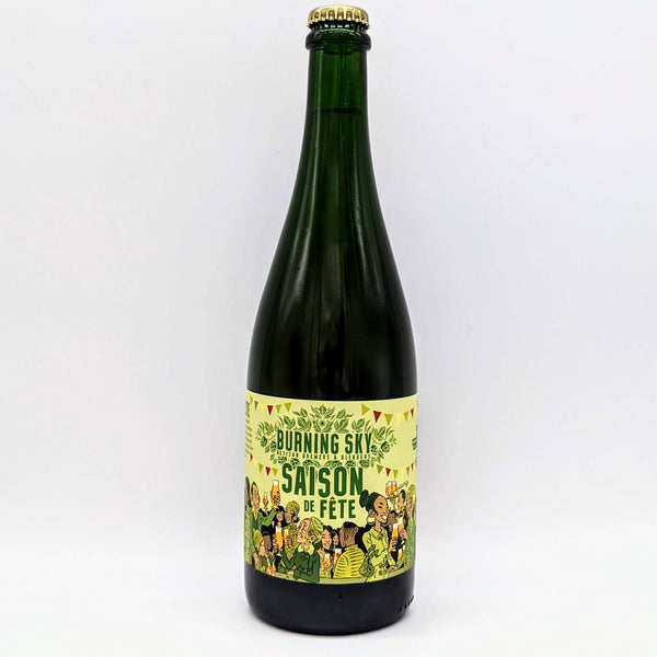 Burning Sky - Saison De Fete 2020 - 6.9% ABV - 750ml Bottle