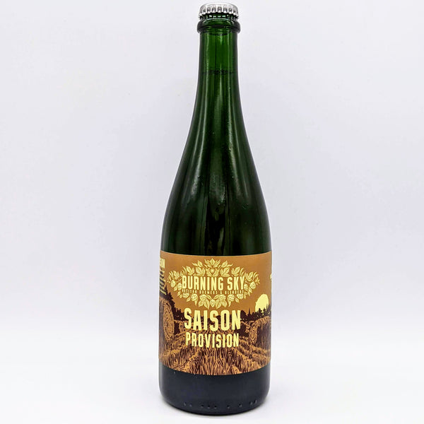 Burning Sky - Saison Provision 2020 - 6.7% ABV - 750ml Bottle