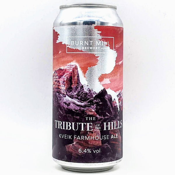 Burnt Mill - The Tribute Of The Hills - 6.4% ABV - 440ml Can