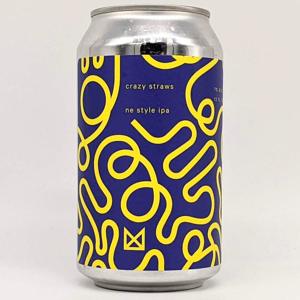 Marz Community Brewing Co - Crazy Straws - 7% ABV - 355ml Can