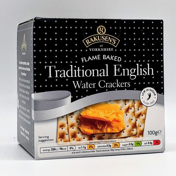 Yorkshire Water Crackers