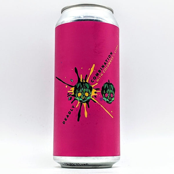 Barrier - Deadly Combination Citra & Columbus - 7.4% ABV - 473ml Can