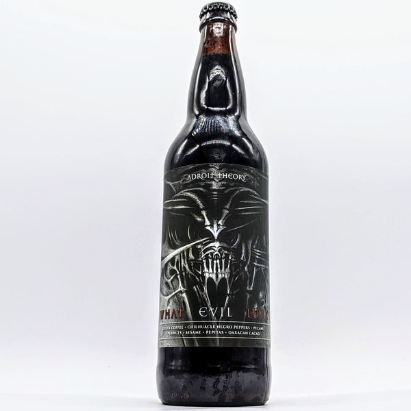 Adroit Theory - What Evil Lurks - Mole Stout - 15% ABV - 650ml Bottle