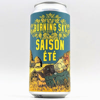 Burning Sky - Saison Ete - 4.2% ABV - 440ml Can