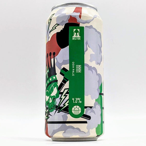 Brew York - HHH DDH Pale - 4.3% ABV - 440ml Can