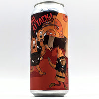 The Brewing Projekt - PB ATTACK! - Peanut Butter Stout - 12% ABV - 473ml Can