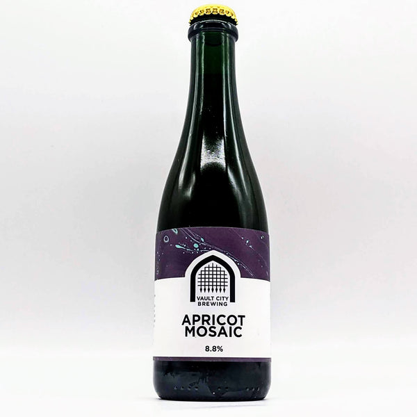 Vault City - Apricot Mosaic - 8.4% ABV - 375ml Bottle