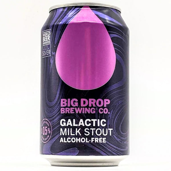 Big Drop - Galactic Milk Stout - 0.5% ABV - 330ml Can