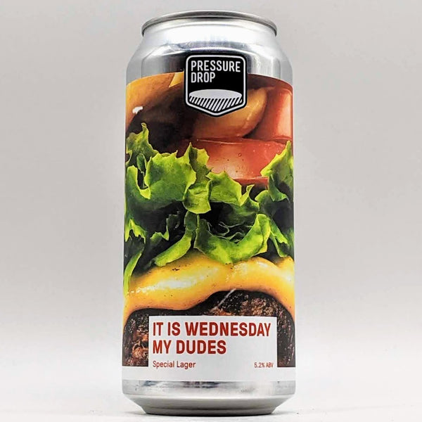 Pressure Drop - It's Wednesday My Dudes - 5.2% ABV - 440ml Can