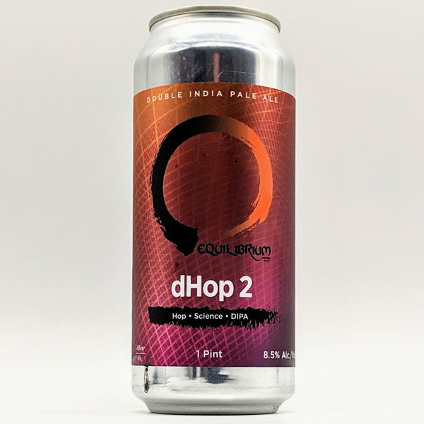 Equilibrium - dHop2 -  DIPA - 8.5% ABV - 473ml Can