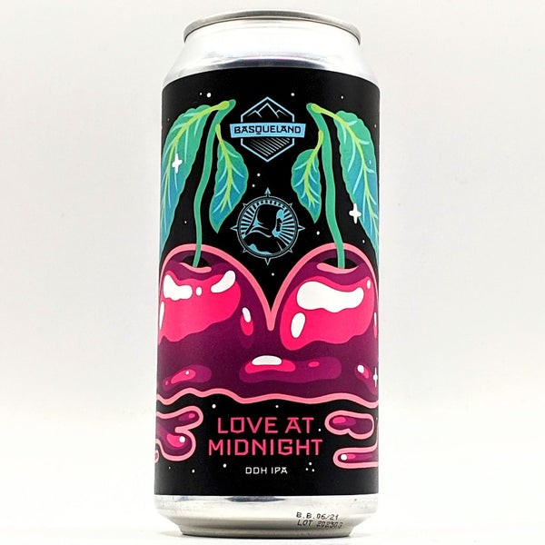 Basqueland / Northern Monk - Love at Midnight - IPA - 7% ABV - 440ml Can