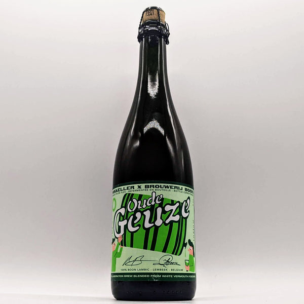 Mikkeller / Boon - Oude Geuze White Vermouth Foeders - 6.6% ABV - 750ml Bottle
