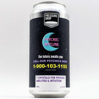 Pressure Drop - 7 Crystals For Psychic Abilities & Intuition - New England DIPA - 8.5% ABV - 440ml Can