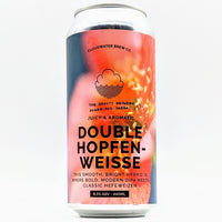 Cloudwater - Double Hopfenweisse - The Beauty Between Power & Dreams - 8.5% ABV - 440ml Can