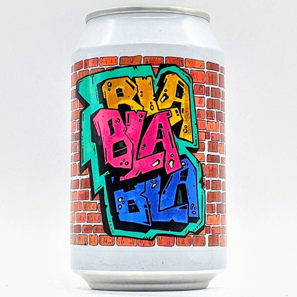 Fermenterarna - BLABLABLA - Raspberry, lime, passion fruit, guava & roasted coconut sour - 6% ABV - 330ml Can