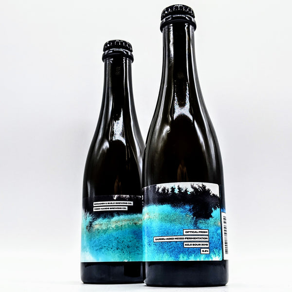 Broaden & Build / Tired Hands - Optical Prism 2019 - Barrel Aged Koji Sour - 5.8% ABV - 375ml Bottle