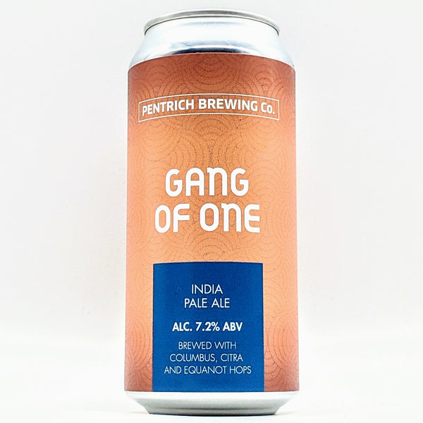 Pentrich - Gang of One - 7.2% IPA - 440ml Can