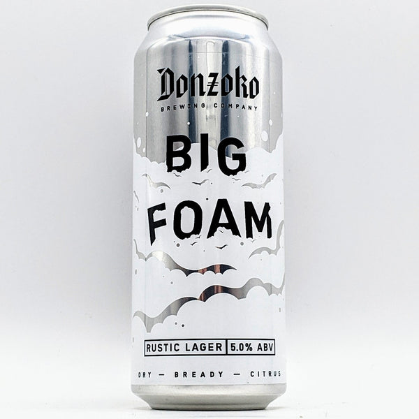 Donzoko - Big Foam - 5% ABV - 500ml Can