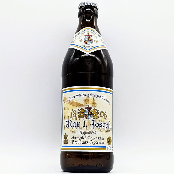 Tegernsee - Max I. Joseph Jubiläums Export - 5.2% ABV - 500ml Bottle