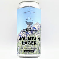 Cloudwater / Odell - A Long Walk with A Dear Friend - 6% Mountain Lager - 440ml Can