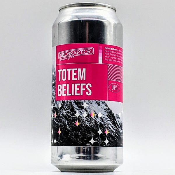 Neon Raptor - Totem Beliefs - 8% DIPA - 440ml Can