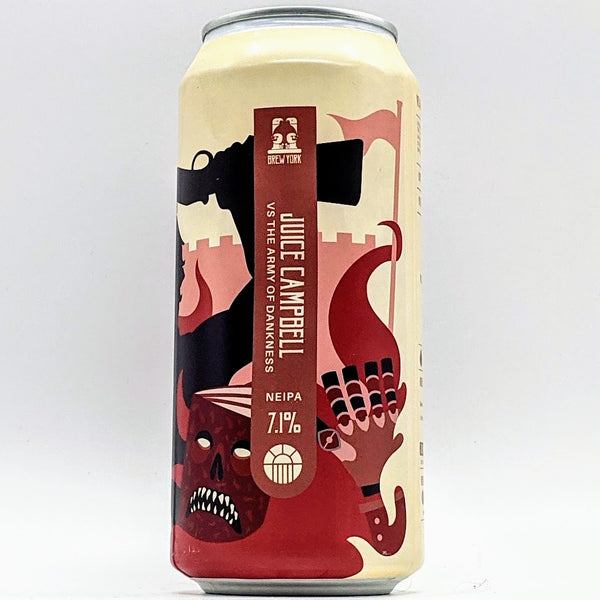 Brew York - Juice Campbell vs The Army of Dankness - 7.1% ABV - 440ml Can