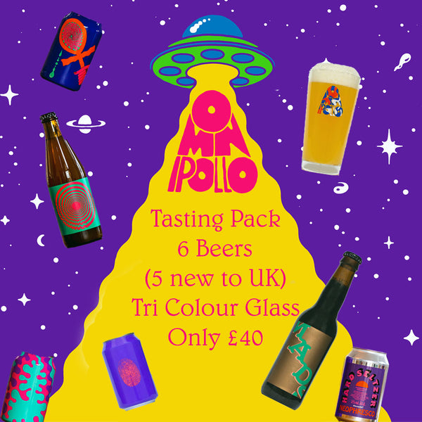 Omnipollo - Tasting Pack - 6 Beers & Glass - Virtual Tasting on 5 June
