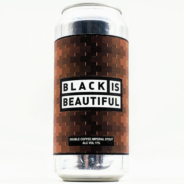 Track - Black is Beautiful - 11% Double Espresso, Cacoa & Vanilla Imperial Stout - 440ml Can