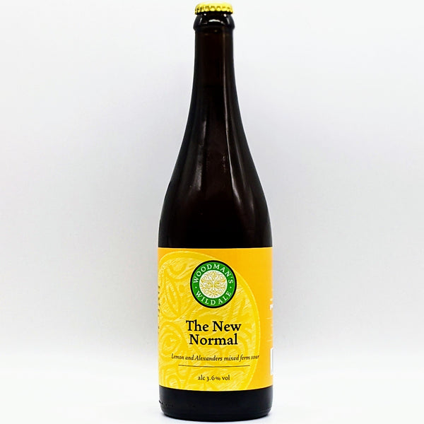 Woodmans Wild Ale - The New Normal - 3.6% Lemon Sour - 750ml Bottle