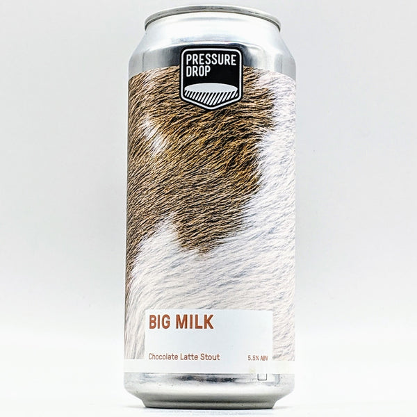 Pressure Drop - Big Milk - 5.5% Chocolate Latte Stout - 440ml Can