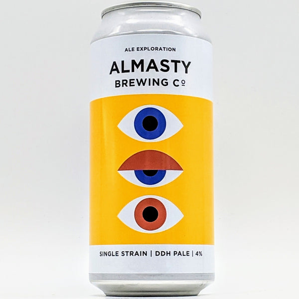Almasty - Single Strain - 4% Citra Pale - 440ml Can