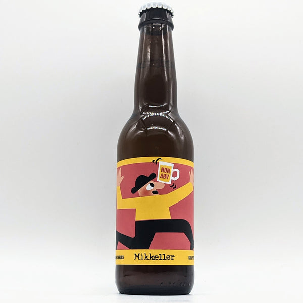 Mikkeller - Kinder Series - Grapefruit - 0.3% ABV - 330ml Bottle