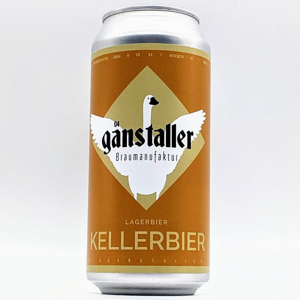 Ganstaller - Kellerbier - 5.2% ABV - 440ml Can