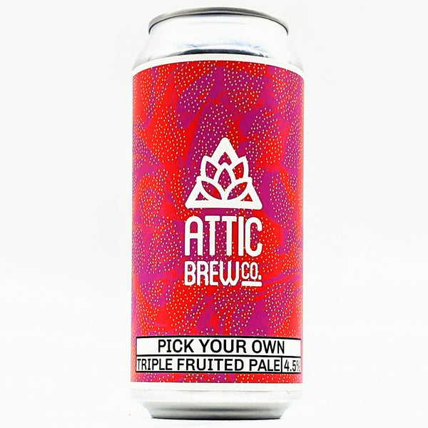 Attic - Pick Your Own - 4.5% ABV - 440ml Can