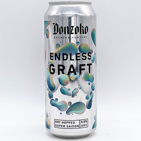Donzoko - Endless Graft - 9.8% Super Saison - 500ml Can