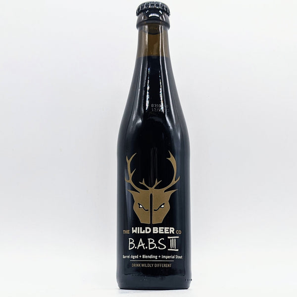 Wild Beer - B.A.B.S III - 14.5% ABV - 330ml Bottle