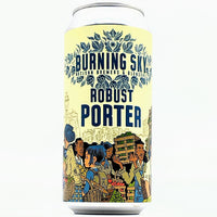 Burning Sky - Robust Porter - 5.8% ABV - 440ml Can