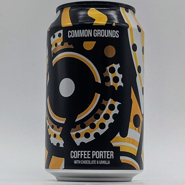 Magic Rock - Common Grounds - 5.4% Coffee Porter - 330ml Can